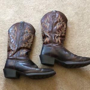 Other - Justin Cowboy western boots sz10 D